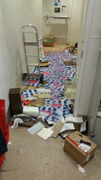 Retail Store Flood Damage Cleanup