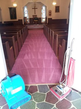 Carpet Cleaning in Burlington, North Carolina