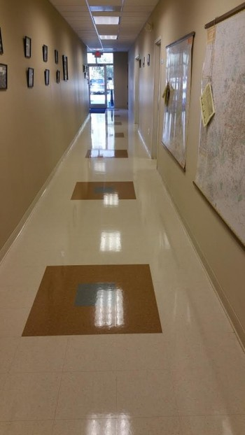 Floor Stripping & Waxing completed by Superior Janitorial Service, LLC in Greensboro, NC