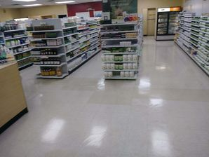 Commercial Floor Cleaning at Natural Food Store in Asheboro, NC (1)