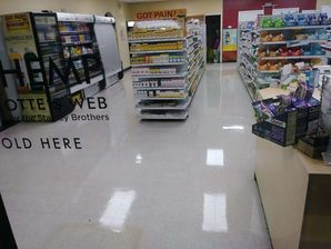 Commercial Floor Cleaning at Natural Food Store in Asheboro, NC (2)