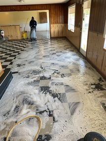 Before & After restaurant Floor Cleaning in Liberty, NY (1)